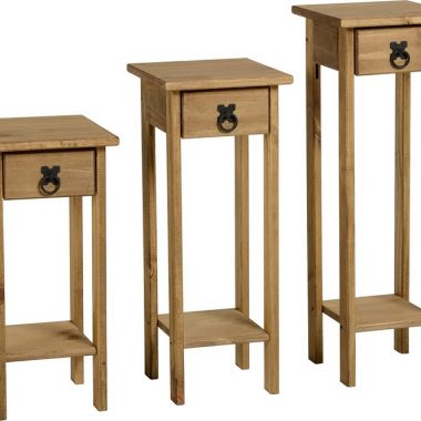 Corona Plant Stands (Set of Three)