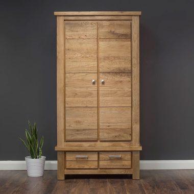 5ft King Size DiMarco Solid Oak Bed-frame